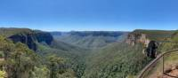 The view of the spectacular Grose Valley from Govetts Leap | Greg Lees
