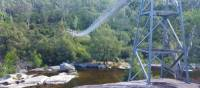 Bowtells Swing Bridge across the Coxs River | Linda Murden