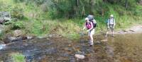 One of many creek crossings on the Six Foot Track | Linda Murden
