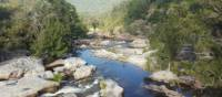 Crossing the Coxs River on the Six Foot Track | Linda Murden