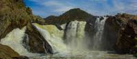 The magnificent Snowy Falls, the largest waterfall on the River