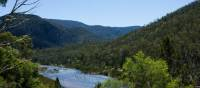 A birds eye view of the breathtaking wilderness of the Snowy River