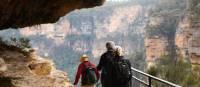 Exploring the escarpments of the Blue Mountains | Jannice Banks