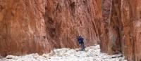 Hiking in Standley Chasm, Larapinta Trail   #cathyfinchphotography