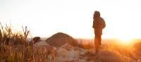 Sunrise walk on Mt Sonder | #cathyfinchphotography