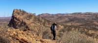 Hiking along the Larapinta Trail in the Northern Territory   #cathyfinchphotography