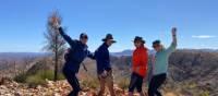 All smiles on the Larapinta Trail | #cathyfinchphotography
