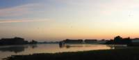 Sunset water views on the Yellow Water Lagoon | Holly Van De Beek