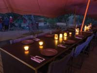 World Expeditions exclusive camps offer stylish dining for Larapinta trekkers |  <i>Graham Michael Freeman</i>