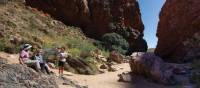 Taking a break on the Classic Larapinta Trek | Graham Michael Freeman