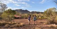 Heading out onto the Larapinta Trail from our multi award-winning eco-friendly campsites |  <i>Andrew Thomasson</i>