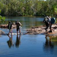 The Jatbula Trail guides look after the trekkers well   Steve Trudgeon