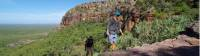 Trekking in to the stone country on the Nourlangie Massif, Kakadu |  <i>Rhys Clarke</i>