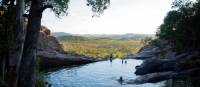 Hanging out at Gunlom Plunge Pool | Nicholas Gouldhurst