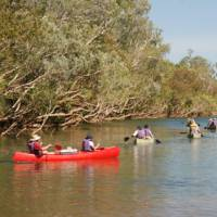 Canoeing the languid tropical waters of the Katherine River | Chris Buykx