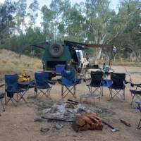 Campsite setup down by Birthday Waterhole | Linda Murden