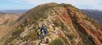 Ridge views across the Larapinta Trail | Latonia Crockett