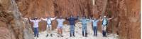 A team photo on the Larapinta Trail |  <i>Latonia Crockett</i>