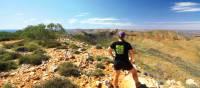 Breathtaking views as we descend down Mount Sonder   Linda Murden