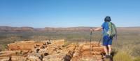 Breathtaking scenery on the Larapinta Trail   Linda Murden