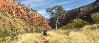 Walking towards Ormiston Gorge | Ayla Rowe