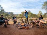 Our guides will prepare you tea and snacks as you relax in the afternoons |  <i>Shaana McNaught</i>