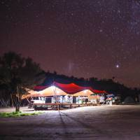 The clear Outback skies reveal a myriad of stars over Larapinta Campsites |  <i>Caroline Crick</i>