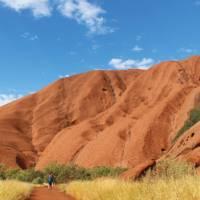 Base tour of Uluru | Ayla Rowe