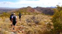 The Larapinta Trail traverses the high ridgelines of the Chewings Range |  <i>Sue Badyari</i>