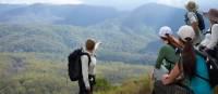 Enjoying the views on the Scenic Rim