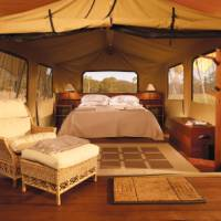 Tent accommodation at Spicers Canopy