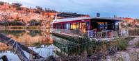 Stay in a modern houseboat along the Murray River