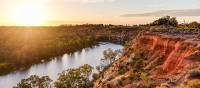 Beautiful sunrises along Murray River Walk