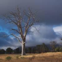 Stormy skies over Wilpena Pound in the Flinders Ranges   Dan Westergren