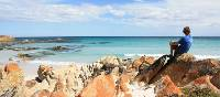 Admiring the tranquil Bay of Fires | Mick Wright