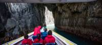 Cruise alongside some of Australia's highest sea cliffs and beneath towering crags | Tourism Tasmania & Joe Shemesh