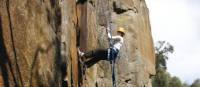 Abseiling in Cataract Gorge, Tasmania | Bob McMahon