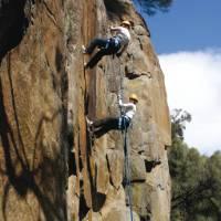 Abseiling in Cataract Gorge, Tasmania | Bob McMahon