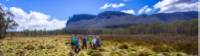 Trekkers admiring the scenery on the Cradle Huts walk |  <i>Great Walks Of Australia</i>