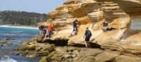 Explore the beautiful Painted Cliffs on Tasmania's Maria Island | Toni Wythes