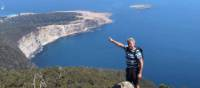 Summiting Maria Island for the amazing views | Toni Wythes