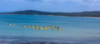 Kayaking at Coles Bay, Freycinet National Park | Toni Wythes