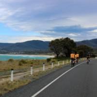 Cycling along the Tasmanian east coast   Oscar Bedford