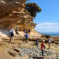 Explore Tasmania's Maria Island by foot   Oscar Bedford