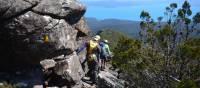 Descending Mt Maria | Brian Dodson