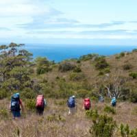 Trek from Granite Beach to South Cape Rivulet | Jon Herring