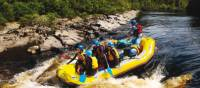 Navigating the rapids on the Franklin River | Carl Roe