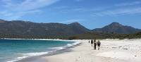 Walking on Wineglass Bay | Michael Hall