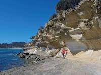 Exploring the Painted Cliffs on Maria Island |  <i>Brad Atwal</i>