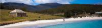 Walk along white sandy beaches with gin-clear water |  <i>Tourism Tasmania and Rob Burnett</i>